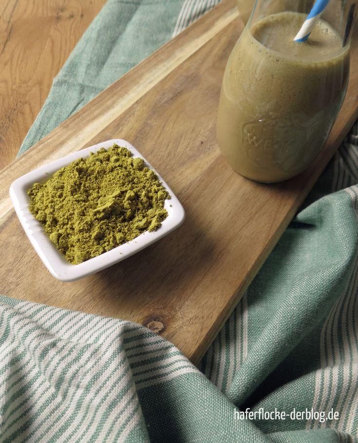 Veganer Mokka-Protein Shake mit Kürbis Protein Pulver