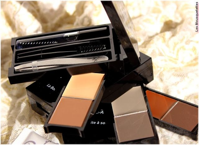 La Boîte à Sourcils de L'Atelier Maquillage Paris - Blog