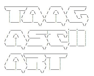 Best 10+ Ascii text generator ideas on Pinterest | Cool text ...