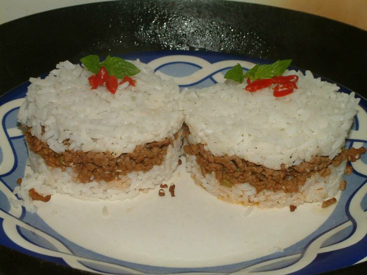 Rijst Hamburgers recept | Smulweb.nl