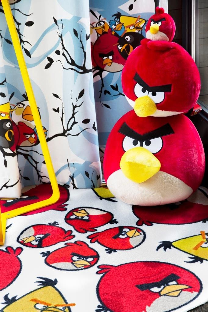 """Mandala"" rug - Angry Birds Interior Collection by Vallila"