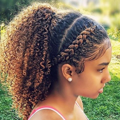1070 best Natural Hair / Hairstyles images on Pinterest | Braids for kids, Black girls