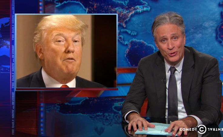 """Jon Stewart explains how Donald Trump's """"bald-faced"""" war on marriage equality is everything that's wrong with the GOP"""