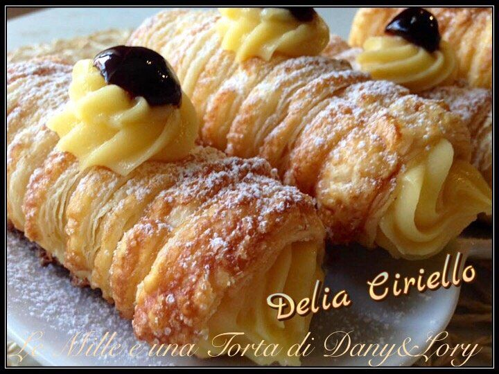Connu 85 best dolci pasta sfoglia images on Pinterest | Cookies, Nutella  QP25