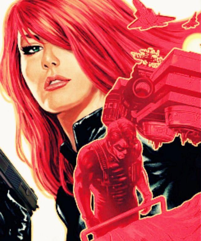 Bucky Barnes/Natasha Romanoff - Winter Soldier Issue