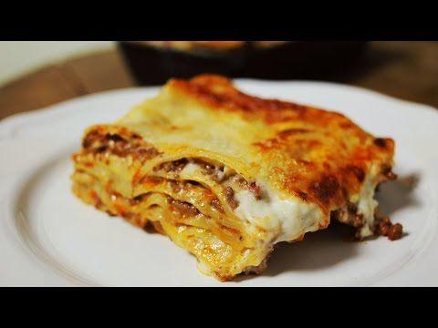 Street Kitchen: Így készül a tökéletes lasagne bolognese - YouTube