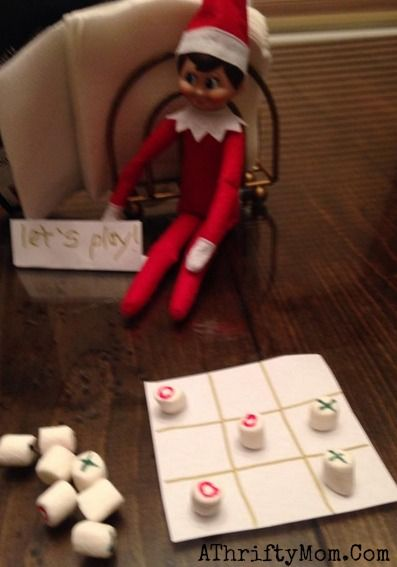 Elf on the Shelf easy ideas, What to do with your Elf, Silly Ideas for your Christmas Elf on the Shelf day 15