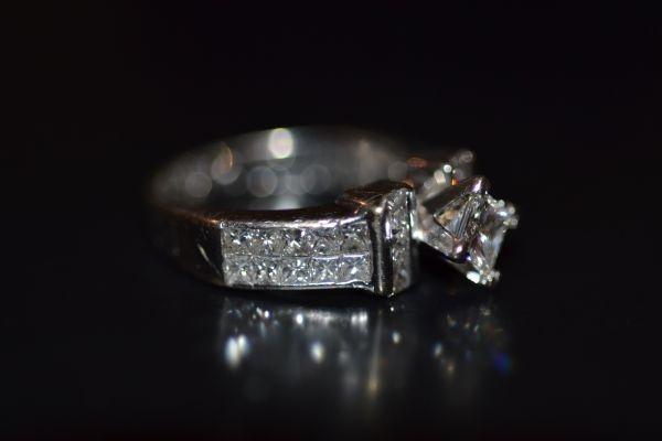 Princess cut engagement ring: Engagement Ring