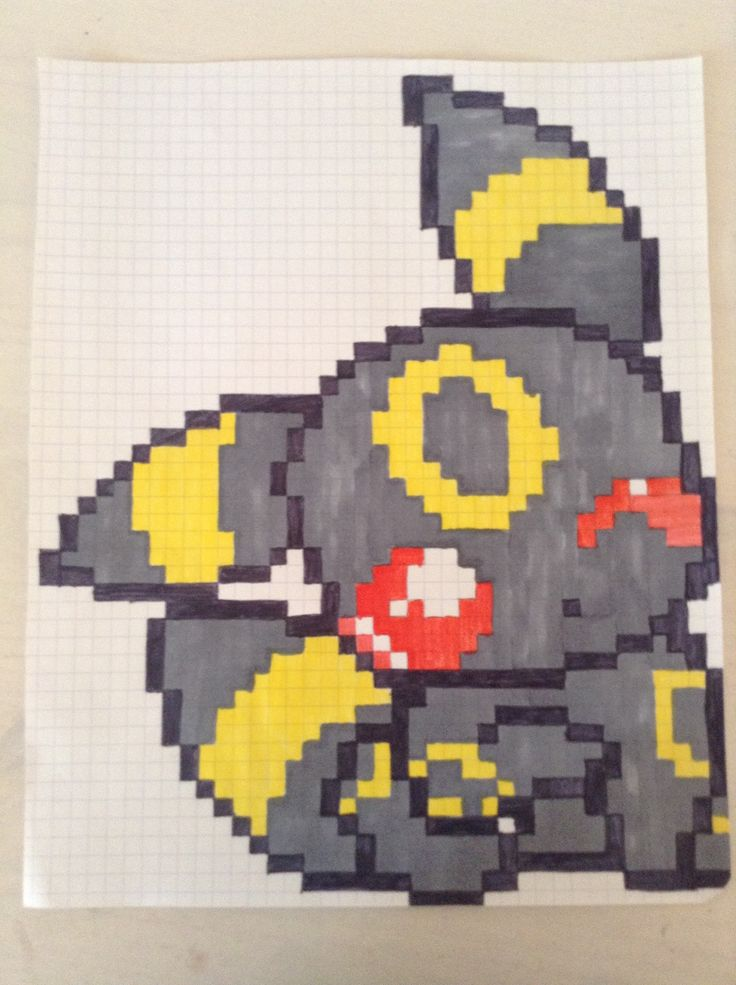 Dessin En Pixel Pokemon