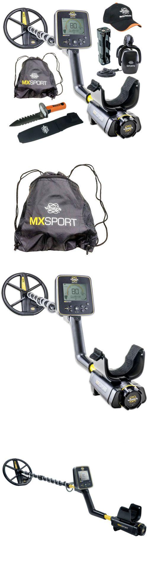 Metal Detectors: Whites Mx Sport Waterproof Metal Detector Geared Up Bundle BUY IT NOW ONLY: $799.95