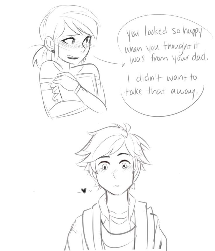 His Scarf - pg08. This episode was actually really cute. She should've just told him that she made him that scarf.