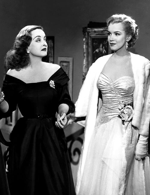 Bette Davis and Marilyn Monroe in All About Eve