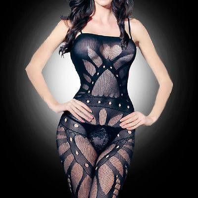 New Women Black Sexy Lingerie G String Dress Underwear Babydoll Sheer Sleepwear