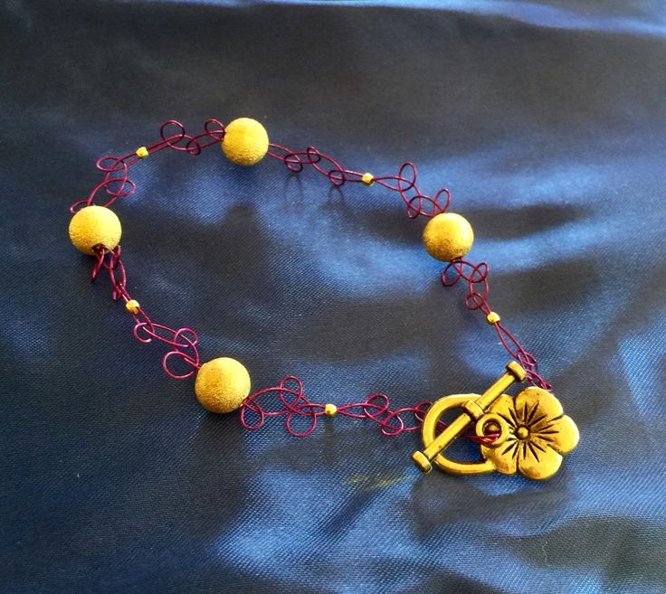 Purple and Gold Infinity Bracelet by Soul4Style on Etsy