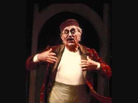 """Paolo Montarsolo  """"Le femmine d`Italia"""" L`Italiana in Algeri. - 90 años"""