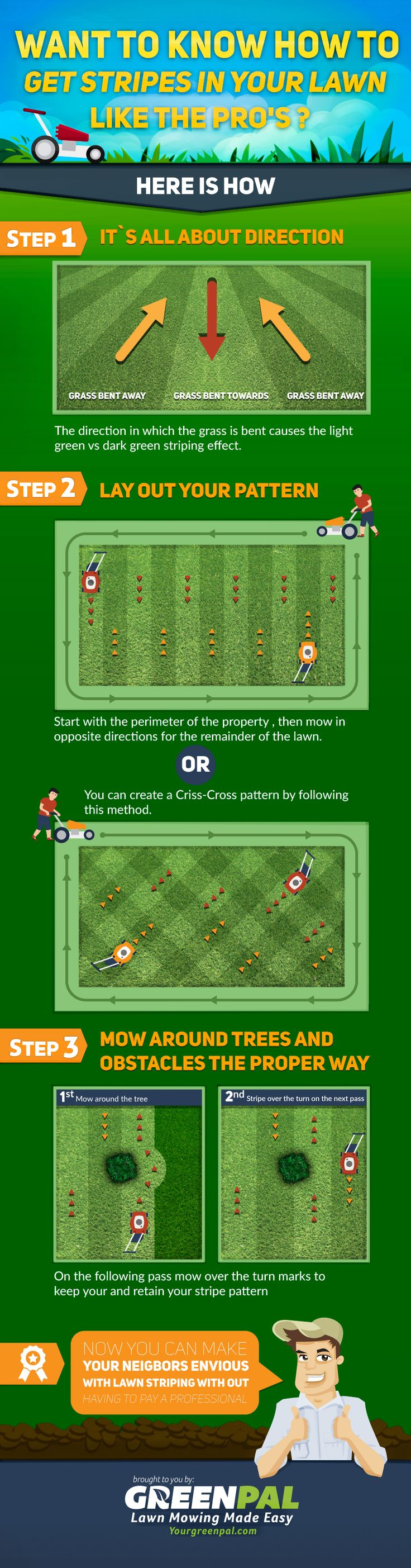 Infographic:+How+to+Get+Beautiful+Stripes+in+Your+Lawn