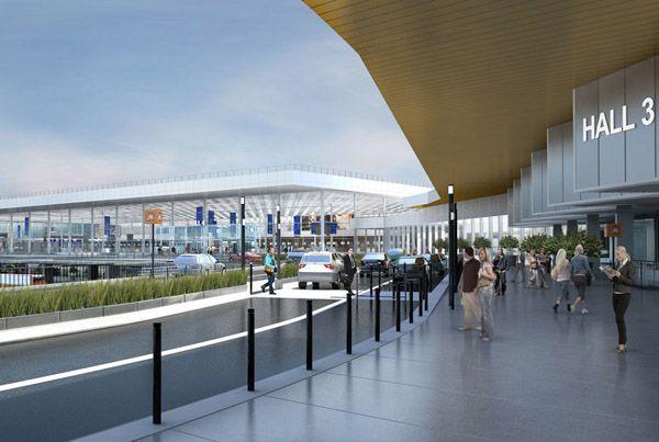 Bâtiment de jonction à  l'aéroport d'Orly