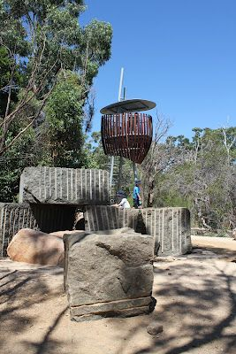 Creators of this new natural play area at King's Park in Perth, Australia have asked us NOT to call it a playground.