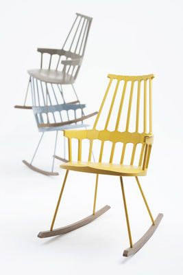 Love Kartell! Rocking chair Comback