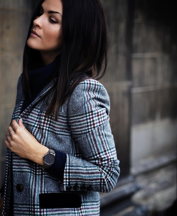 This coat... Can't get enough! By @boden_clothing and on the blog... #BodenByMe #CheckCoat #timex #streetstyleluxe #styleblogger