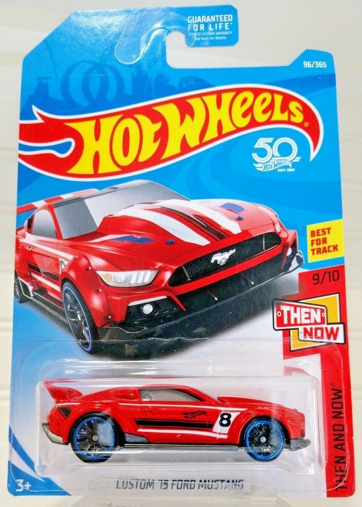 Hot Wheels 50th Anniversary Custom 15 Ford Mustang Then And Now 9