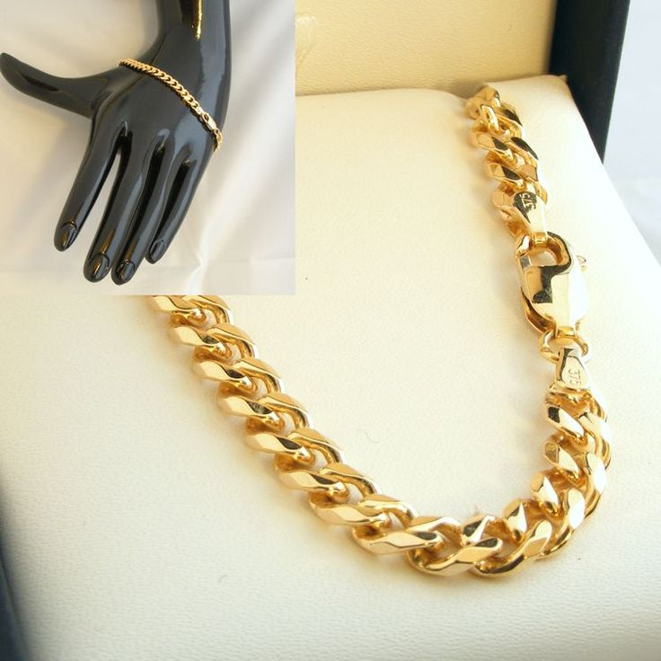 9ct Gold Bev DC Curb Chain - MM-BDC-0005