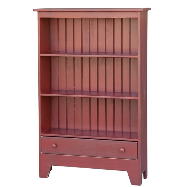 CT52-3-ft-Bookcase-w-Drawer