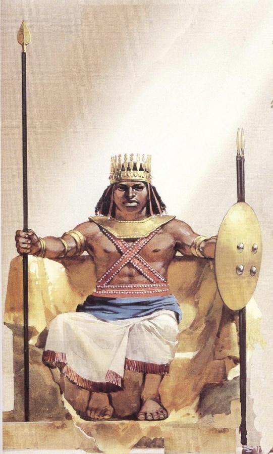 O Abyssinians Ethiopian King Ezana I...