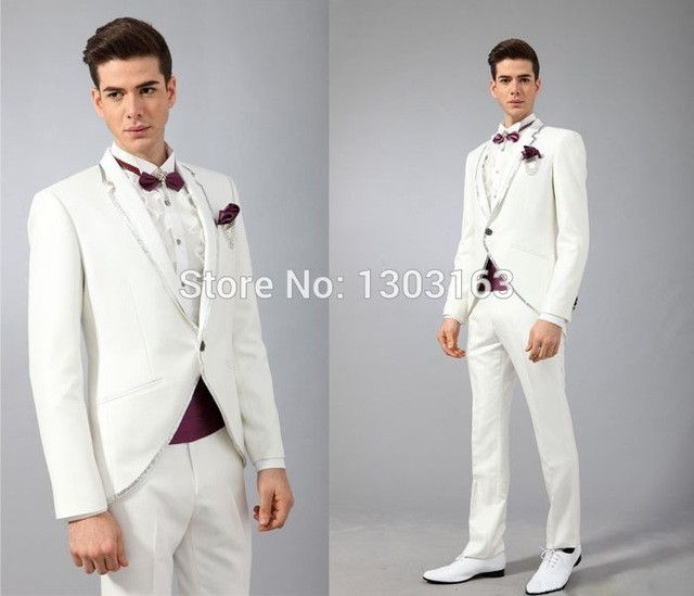 2015 Men Formal Dress Suits Fashion red Business Suit men wedding suits mens tuxedos Style Mens Prom Tuxedo coat+pants