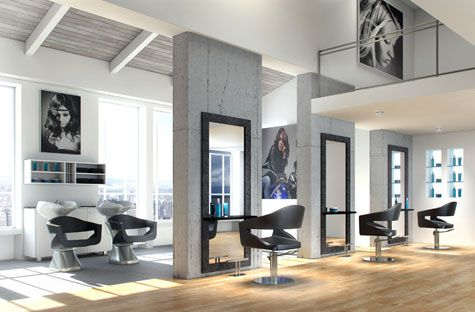 45 best peluqueria images on pinterest cash advance for Disenos de peluquerias