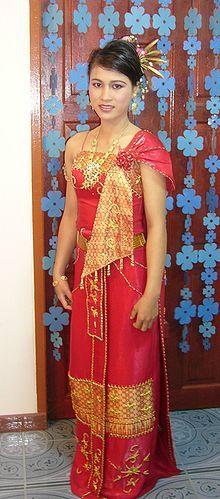 Culture of Thailand - A woman wearing a chut  Thai - Thailand                            ...en.wikipedia.org