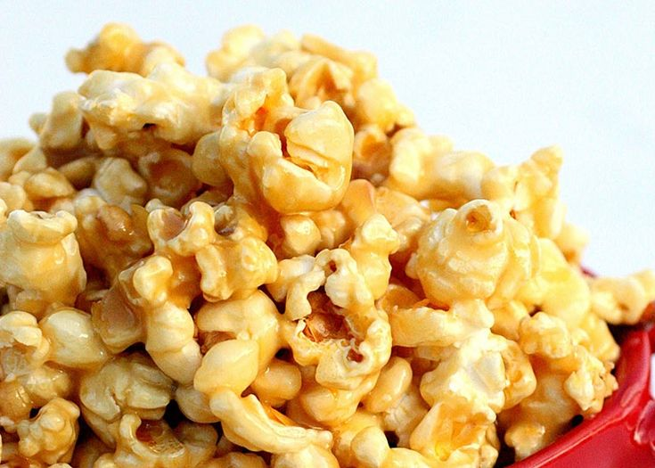 Pop Corn με καραμέλα