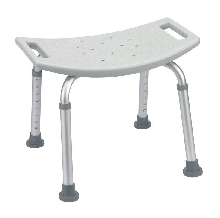 Drive rtl12203kdr Bathroom Safety Shower Tub Bench Chair, Gray