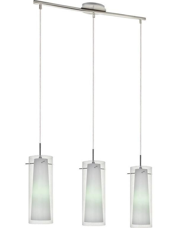 Amore Triple Clear Glass Pendant Light