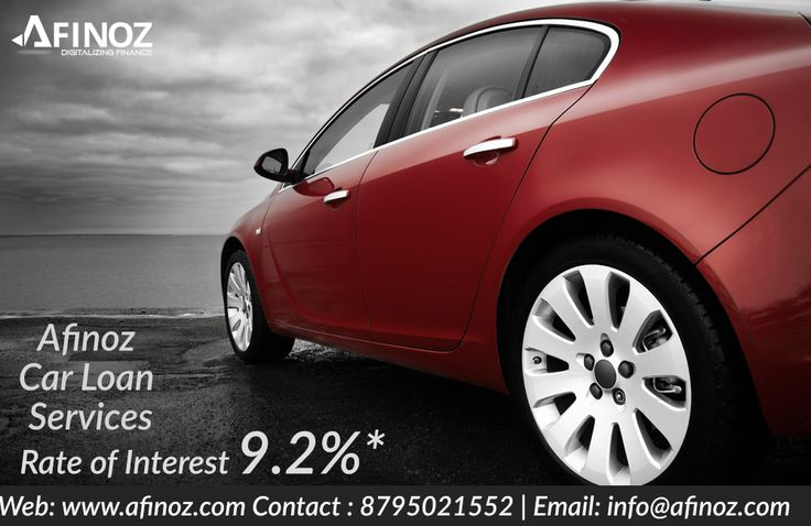 Owning your dream car now comes with best savings! Here at Afinoz you'll be able to avail 85% funding with lowest EMI and lowest interest rate. Visit us @ www.afinoz.com or mail us @ info@afinoz.com. For quick assistance call us @ 8795021552