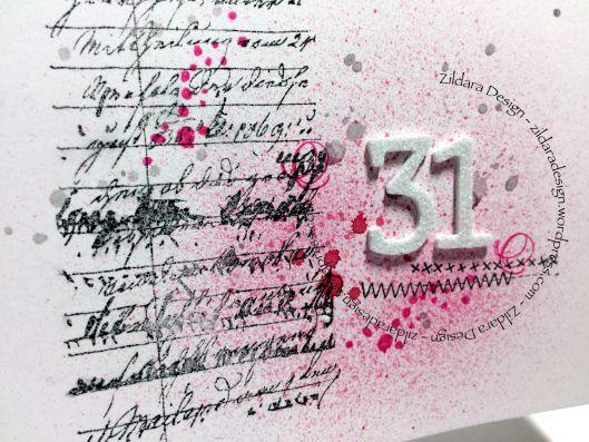 Karin 31. Birthday Card by Zildara