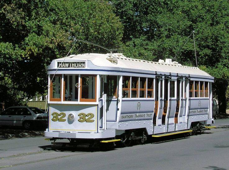 Former Hawthorn Tramway Trust tram, later part of the Bendigo fleet.