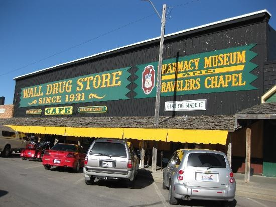 Wall Drug- South Dakota A place I've actually been