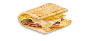 @ Subway! Helllooo delicious! Enjoy savory Black Forest Ham, melted cheese, and egg whites all on a fresh toasted English muffin. Add your choice of toasty veggies for a tasty way to start the day! Try it with egg white on a Mornin' Melt flatbread or English Muffin to make it a Fresh Fit breakfast sandwich!