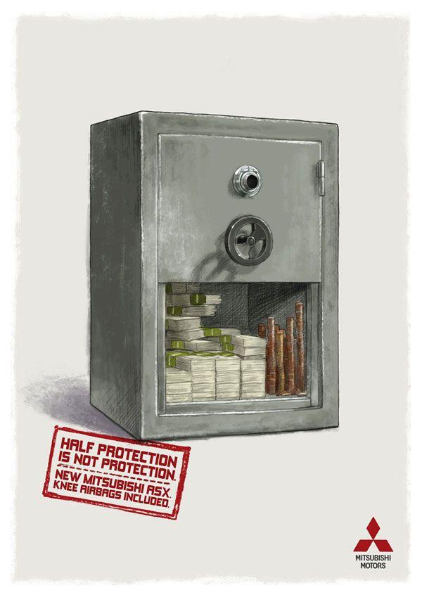 Mitsubishi - Half protection is not protection