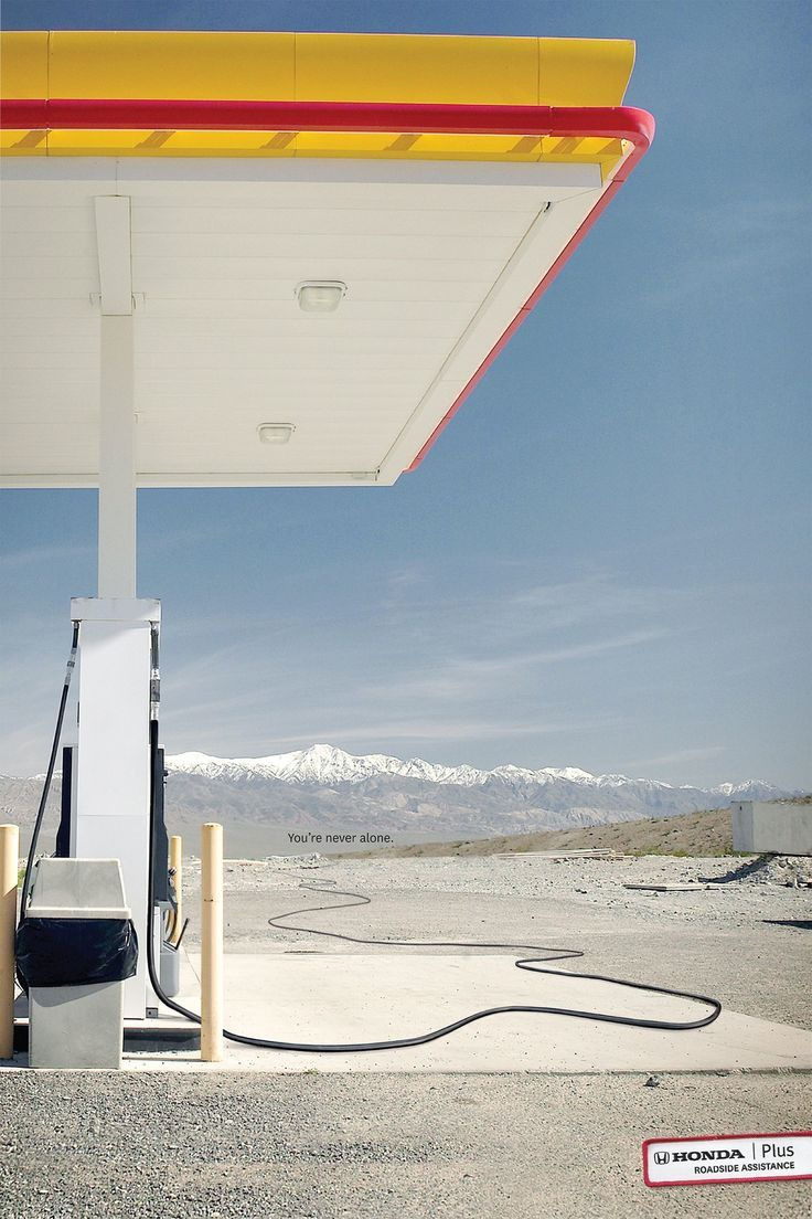 Advertising Campaign : Honda Plus Roadside Assistance: Gas Hose Advertising  Campaign Inspiration Honda Plus Roadside