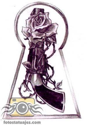 plantilla-tatuaje-pistola2.jpg (300×429)