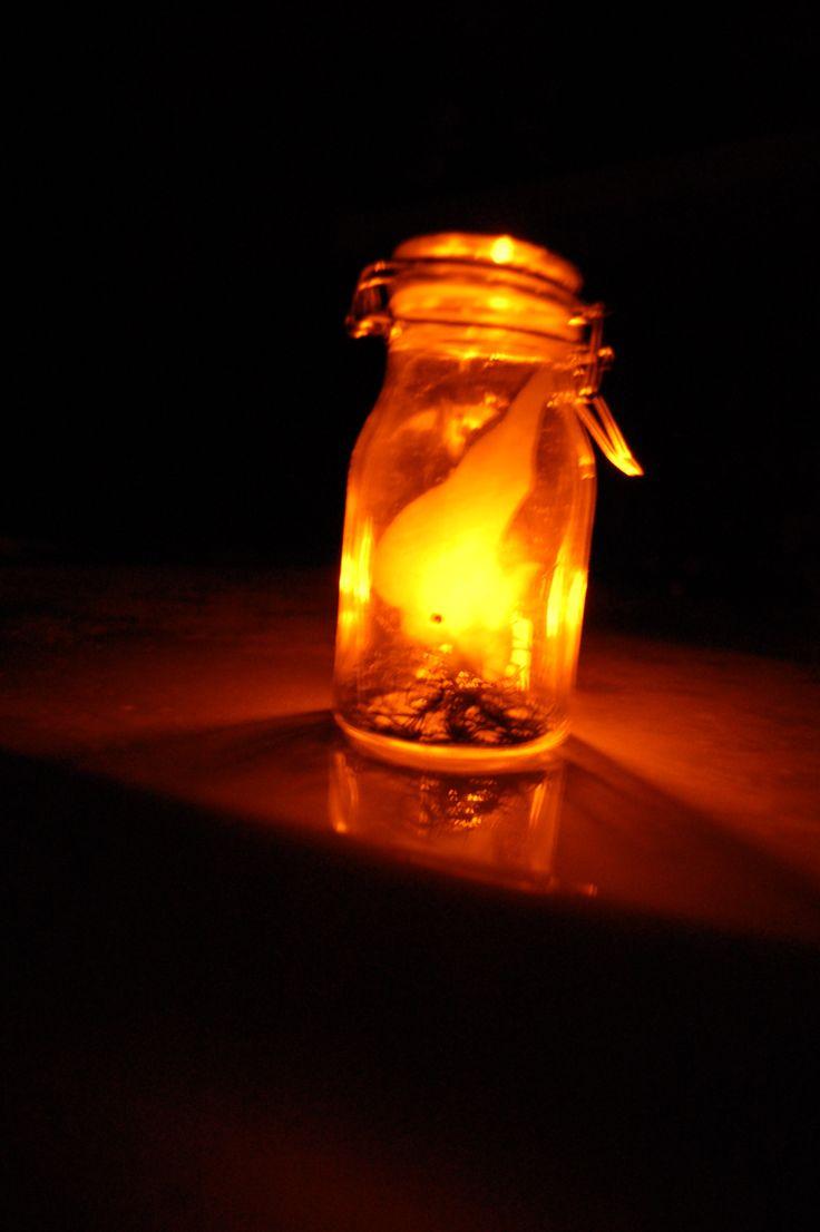 Wisps in a jar! Great tutorial