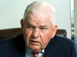 Controversial: Former FBI agent Henry Wade was the Dallas D.A. in 1963 whose conviction of Jack Ruby was overturned on appeal. Altogether, Wade was in office for 36 years with an unprecedented record of convictions but, just like with Ruby, many of his cases were subsequently overturned due to shoddy detective work, legal bias and accusations of racism. He was also the 'pro-life' proponent in the famous Roe vs. Wade case. www.lberger.ca