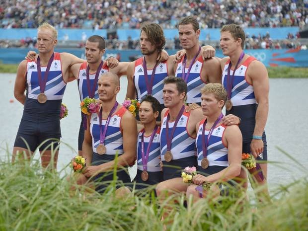 Team GB win Bronze for men's eight on day five of the Olympics