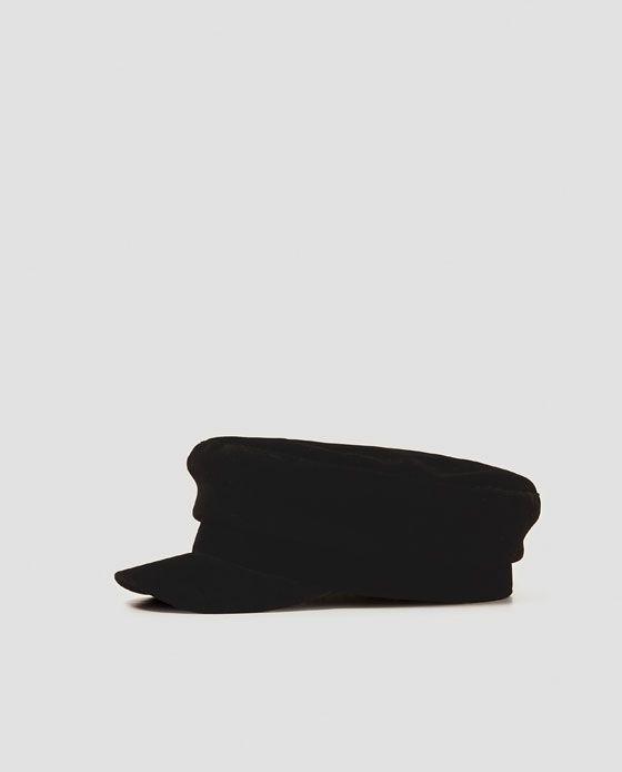 ZARA - WOMAN - NAUTICAL STRIPE NEWSBOY CAP