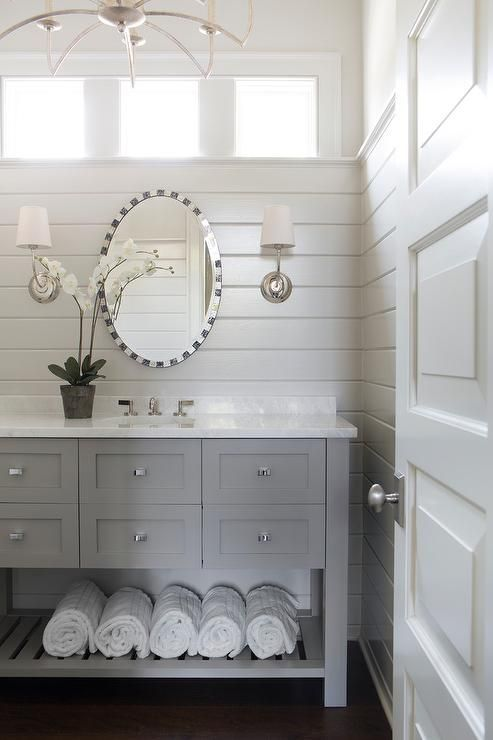 white bathroom cabinets gray walls. bathroom mirror ideas (diy) for a small bathroom. gray and white cabinets walls n