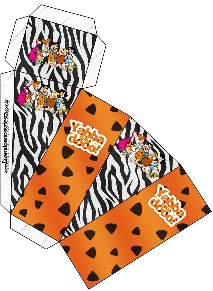 Caixa Pirâmide Flintstones: