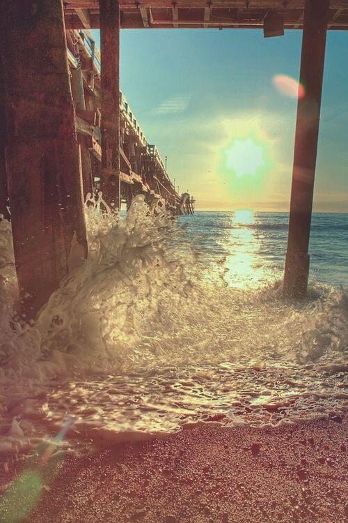 lovely beach sunset