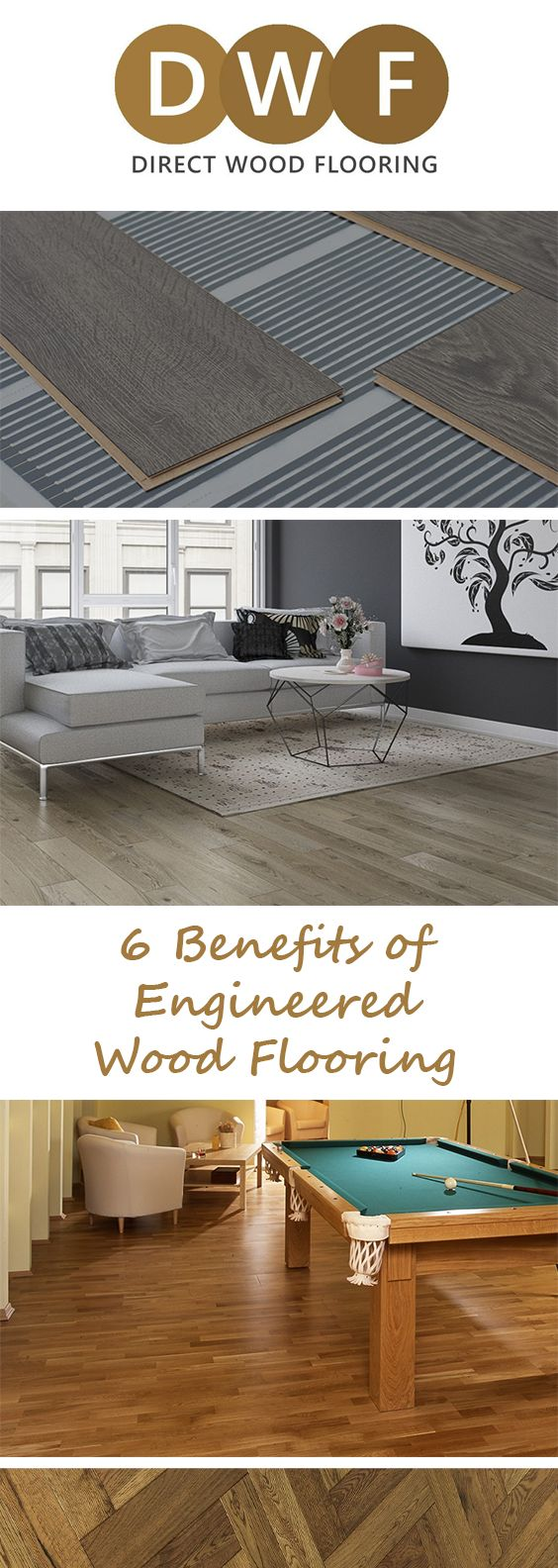 1⃣ Engineered Wood Flooring's durability makes it perfect for kitchens.  2⃣, 3⃣, 4⃣, 5⃣, 6⃣❓  Check out our most recent blog for 6 benefits of Engineered Wood Flooring!